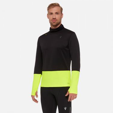 Danny men's high collar running shirt