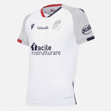 Bologna fc 2020/21 kids away shirt