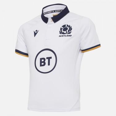 Maillot de match extérieur réplique enfant scotland rugby 2020/21