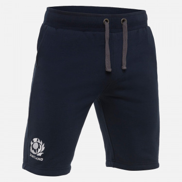 Scotland rugby 2020/21 adults' cotton brushed bermudas