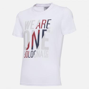 T-shirt adepto em algodão infantil bologna fc 2020/21