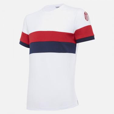 T-shirt in cotone da bambino bologna fc 2020/21