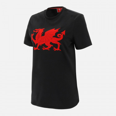 Welsh rugby 2020/21 fans collection women's t-shirt