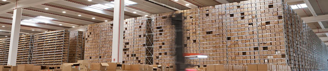 Macron warehouse